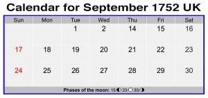 Julian to Gregorian calendar