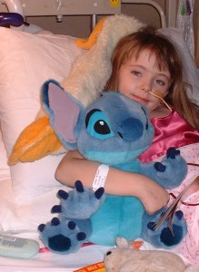 Aimee unwell in Hospital